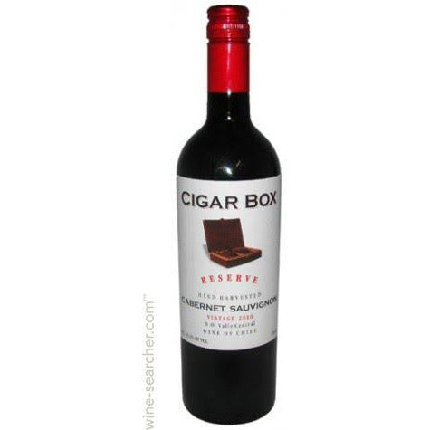 Cigar Box cab Sauv 16 750ml
