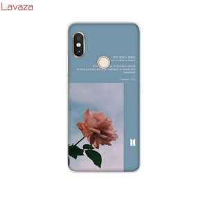 Lavaza Lock Screen  Aesthetic Hard Phone Case for Xiaomi Redmi 5A 5 Plus 6 Pro 6A cases for Redmi Note 5 6 7 Pro Cover