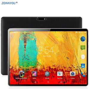 10.1 inches Tablet PC Android 8.0 3G Phone Call Octa -Core 4GB Ram 32GB Rom Built-in 3G Bluetooth Wi-Fi GPS Tablet PC +Keyboard