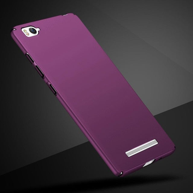 "For Xiaomi Mi 4i 4c Mi4i Mi4c 5.0"" Case Frosted Full Cover Hard Matte Bumper For Xiaomi Mi 4i Phone Case Xiaomi Mi 4C Back Cover"
