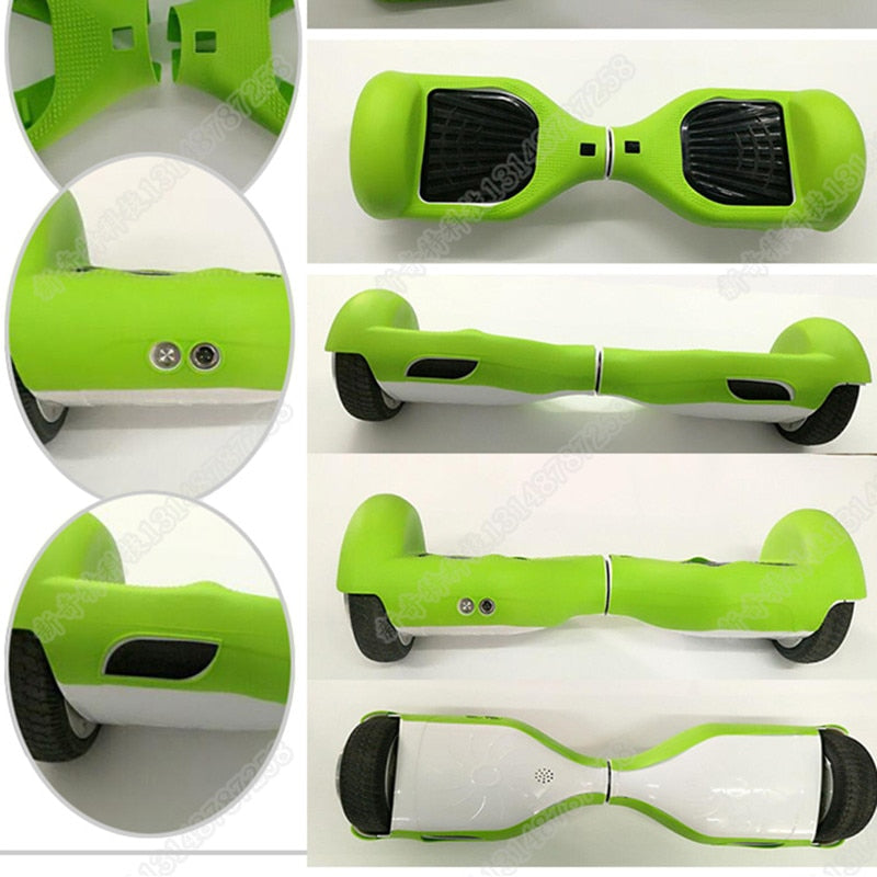6.5inch Silicone Scratch Protector Cover Case For 2 Wheels Self Balancing Electric Scooter giroskuter