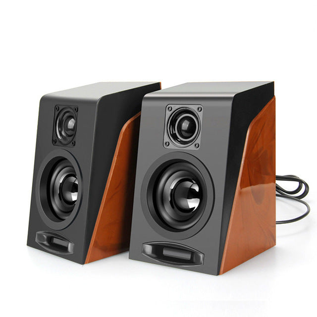New Creative MiNi Subwoofer Restoring Ancient Ways Desktop Small Computer PC Speakers With USB 2.0 & 3.5mm Interface