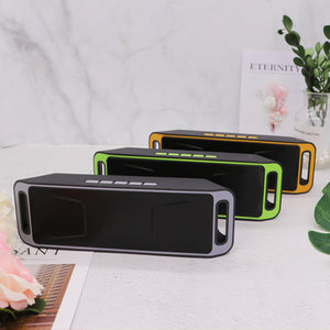 SC208 Wireless Bluetooth Speaker Computer Mini Dual Speaker Portable Small Stereo Car Subwoofer Support Bluetooth Hot Selling
