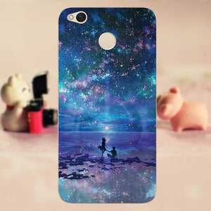 CROWNPRO Case Xiaomi Redmi 4X Funda Phone Case Soft TPU Xiaomi Redmi 4X Cover Silicone Back Bag Xiaomi Redmi 4X Case