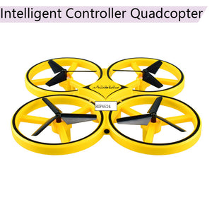 Anti-collision LED Gravity Sensing Airplane Firefly Intelligent Remote Control Bright RC Quadcopter Aircraft Drone Accessories