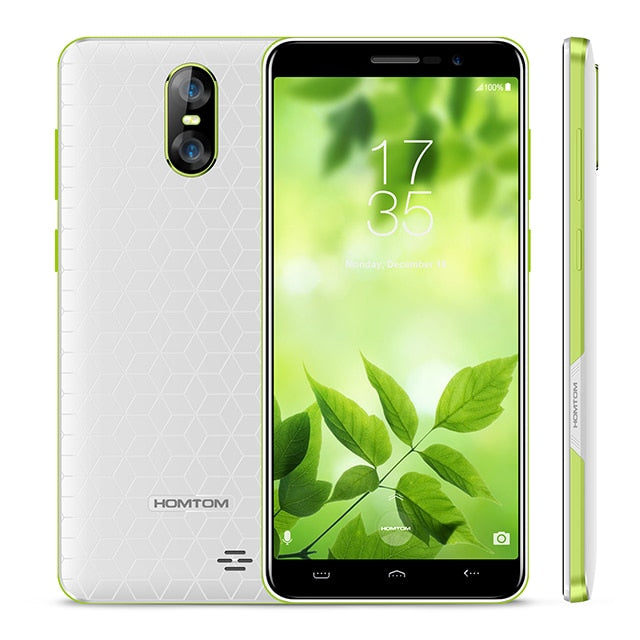 HOMTOM S12 Full Screen Mobile Phone 1GB RAM 8GB ROM 5.0 inch Android 6.0 Quad Core 8MP 2MP Back Dual Camera 3G WCDMA Smartphone