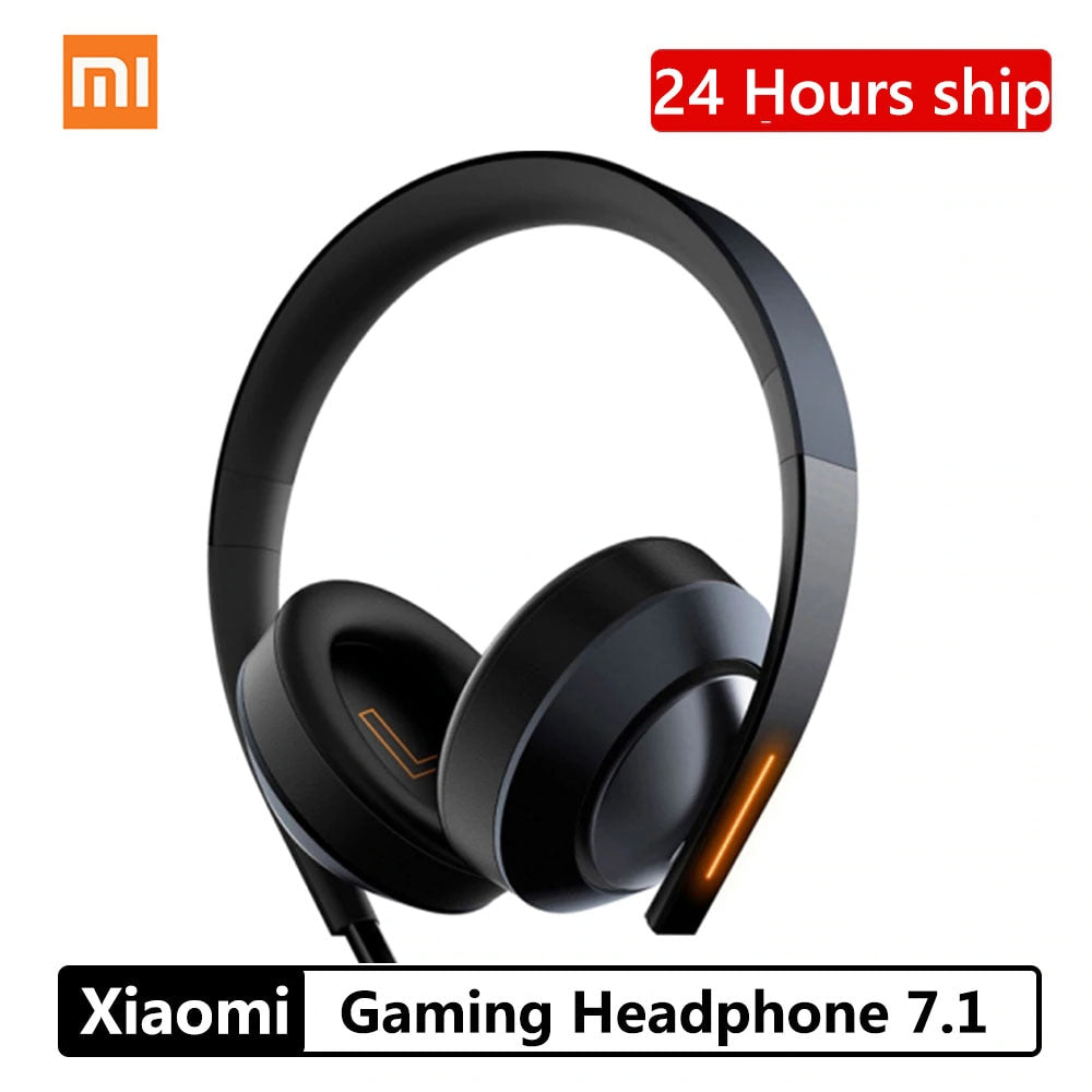 Xiaomi Mi Game Headphone 7.1 Virtual Surround Stereo Anti-noise Gaming Headset Stereo Heavy Bass For PC Laptop Phone