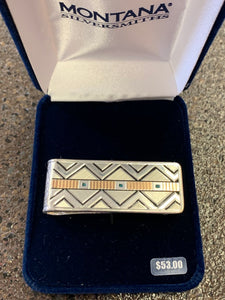 Aztec Money Clip