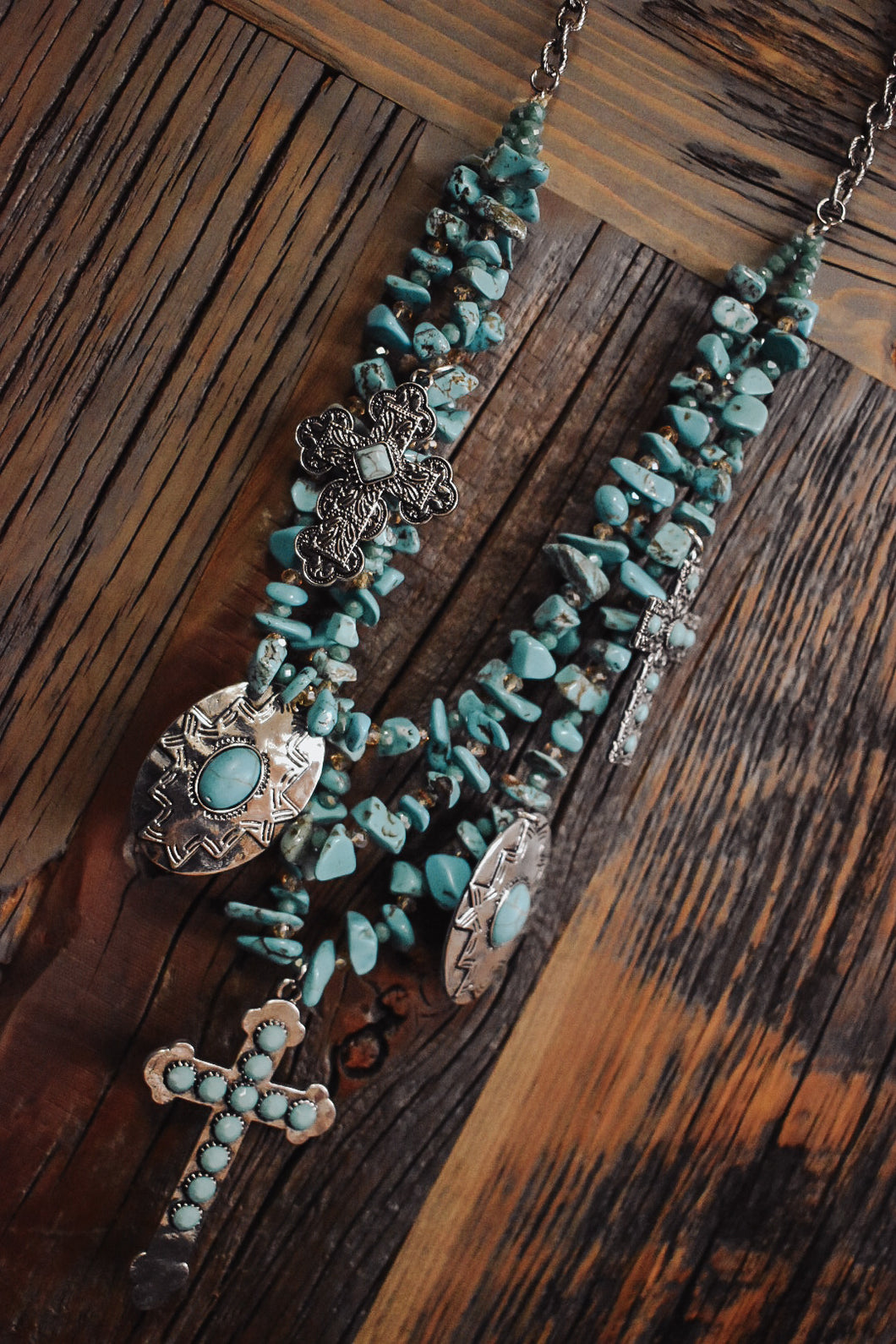 Tri-Strand Necklace
