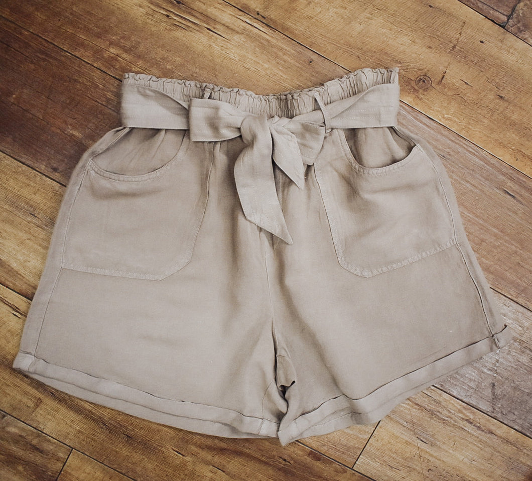 Tribal Paper Bag Shorts