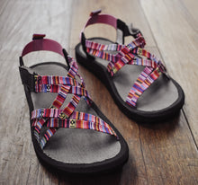 Load image into Gallery viewer, Volatile Kids Aztec Print Sport Sandal
