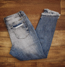 Load image into Gallery viewer, KanCan Destroyed Denim Skinny Jean