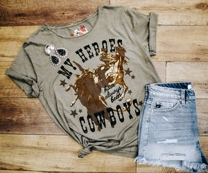 Rodeo Quincy My Heroes Graphic Tee