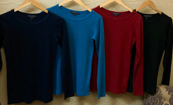 Essential Rib Knit Long Sleeve