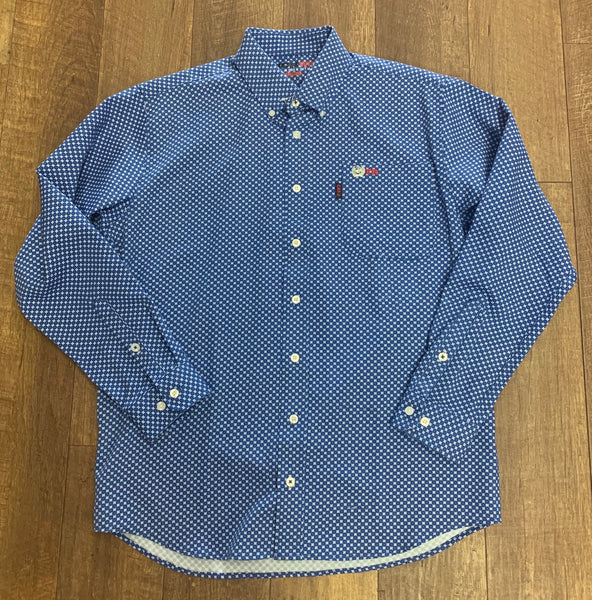 Cinch FR Royal Button Up