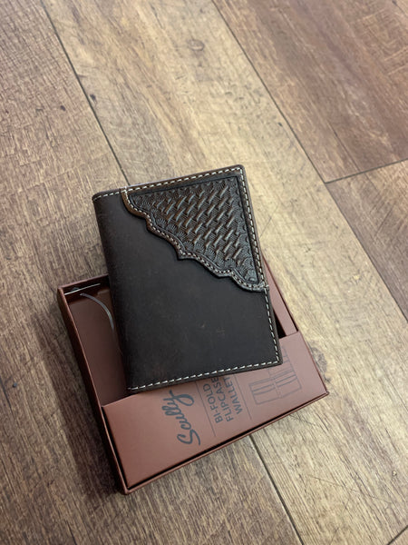 Bi-Fold Leather Flipcase Wallet
