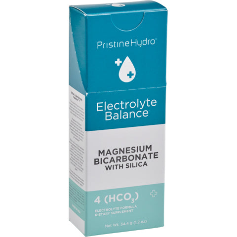 PristineHydro Electrolyte Balance Magnesium Bicarbonate with Silica