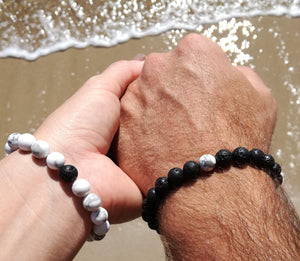 LDR Bracelet - Couple's Distance Bracelet Pair