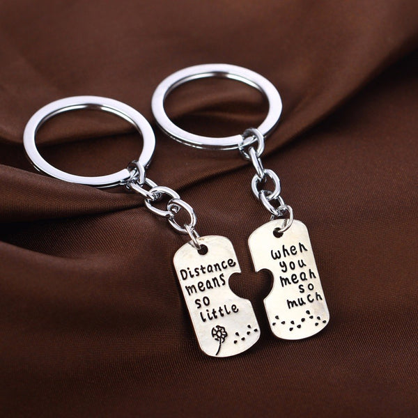 LDR Couple Keychain
