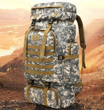 Load image into Gallery viewer, Tactical Camp Pack - 80L
