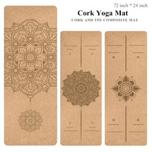 Load image into Gallery viewer, Ultimate Cork Yoga Mat
