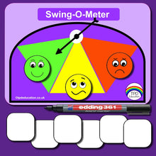 Load image into Gallery viewer, Swing-O-Meter Communication Tool