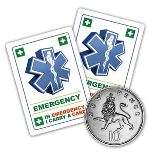 Aspergers Child - ICE card pack (incase of emegency)