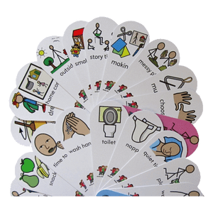 Early Years Instructions and Activities visual symbols Dual Fans