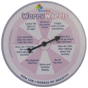 Worry Wheels Anxiety Kit in Box