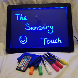 Sensory LED Light up drawing / writing boards (40cm by 60cm)