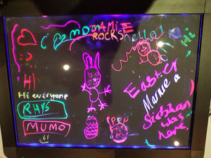 Sensory LED Light up drawing / writing boards (30cm by 40cm)