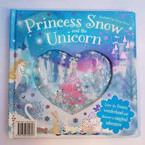 Princess Snow and the Unicorn (Glitter Globes Snowflake book)
