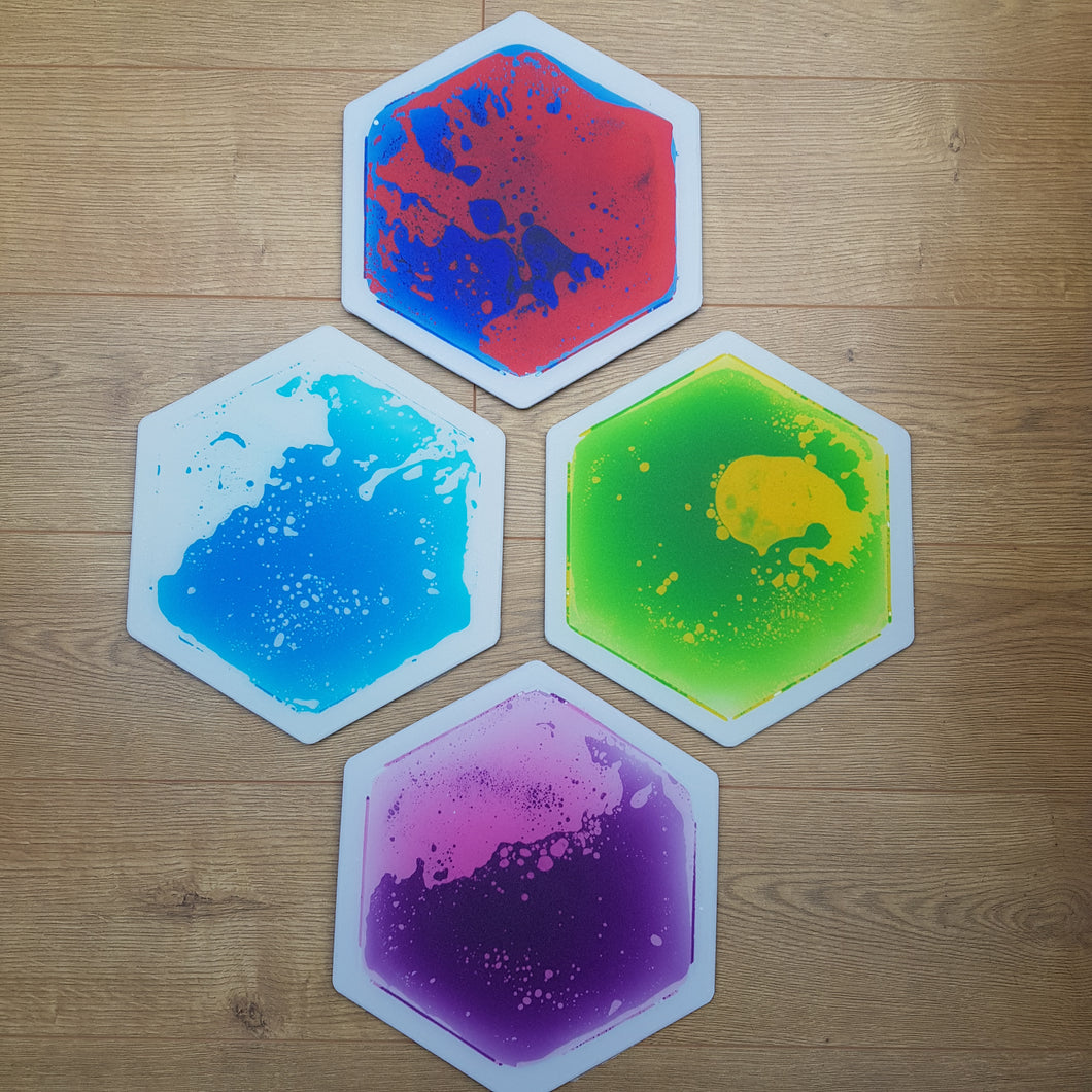 Hexagon Liquid Floor Tile - Small
