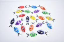 Load image into Gallery viewer, Rainbow Gel Number Fish - Set of 21
