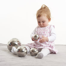 Load image into Gallery viewer, Sensory Reflective Silver Balls - Set of 4