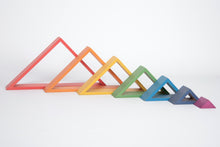 Load image into Gallery viewer, Rainbow Architect Triangles - Set of 7