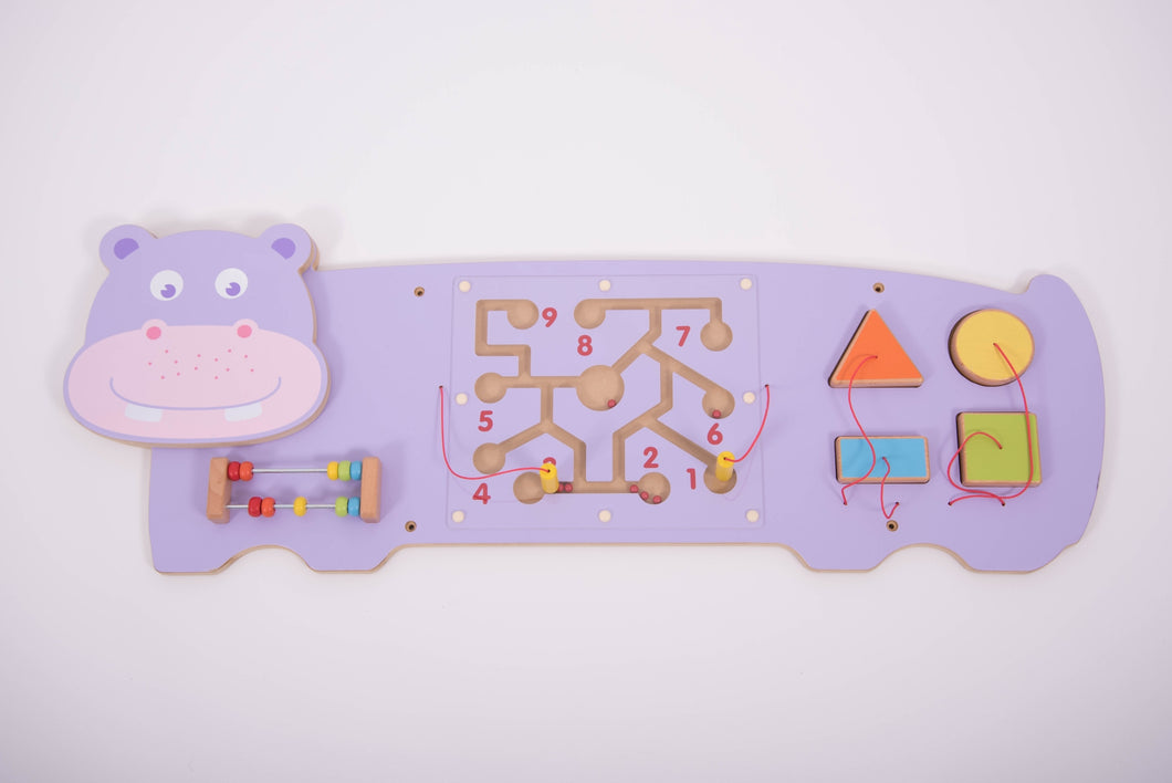 Activity Wall Panel - Hippo