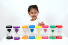Load image into Gallery viewer, ColourBright Sand Timer - 15 Min. (Purple)