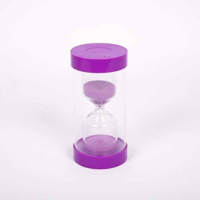 ColourBright Sand Timer - 15 Min. (Purple)
