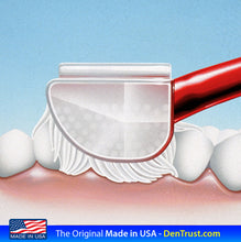 Load image into Gallery viewer, 3 Sided toothbrush - AutistiCare Special Needs Toothbrush by Dentrust