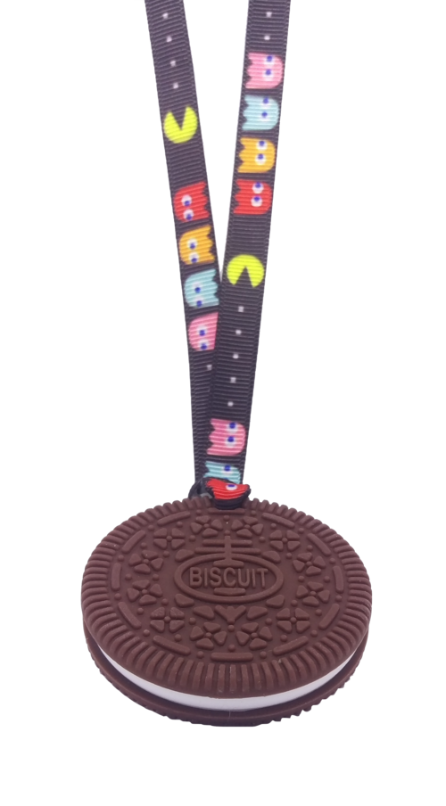 Biscuit Chew with lanyard