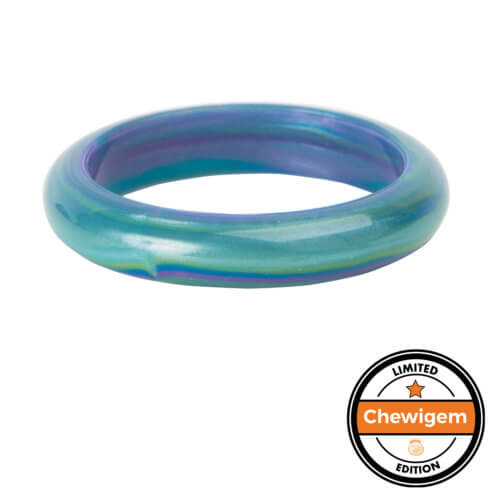 Chewigem - Bubba Bangle - Adult Size (Blue/Green)
