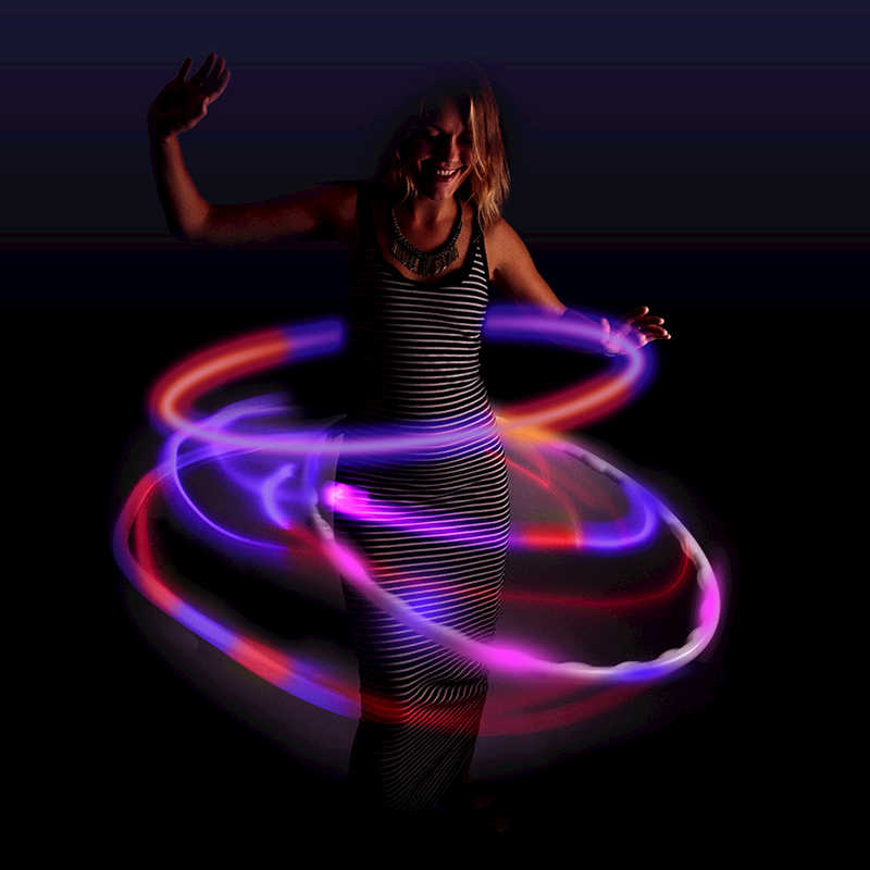 Flashing Hula Hoop