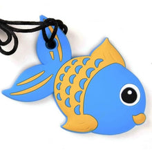 Load image into Gallery viewer, Fish shaped chew with breakaway cord