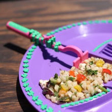 Load image into Gallery viewer, Constructive Eating - Garden Fairy Plate