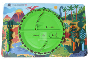 Constructive Eating - Dino Placemat
