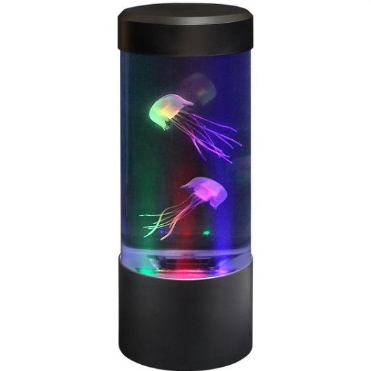 Colour Changing Round Mini Jellyfish Tank