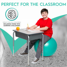 Load image into Gallery viewer, Balance Ball Weighted Seat (55cm – for kids & adults between 5′ and 5'6″ tall)