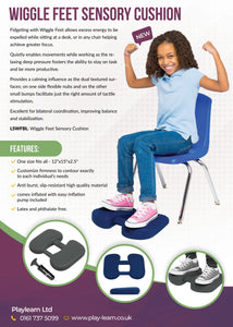 Wiggle Feet Sensory Cushion