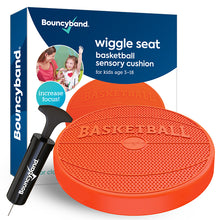 Load image into Gallery viewer, Wiggle Seat Sensory Cushion – Basket Ball Design